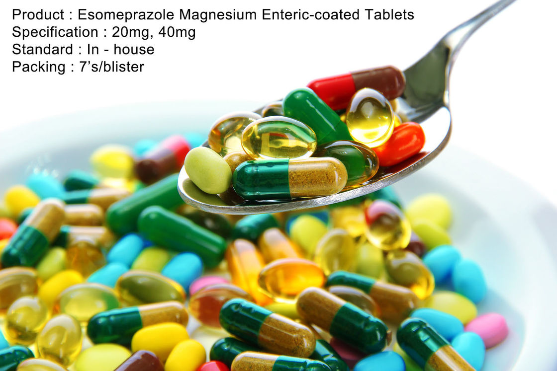 Esomeprazole Magnesium Enteric-coated Tablets 20mg, 40mg Oral Medications