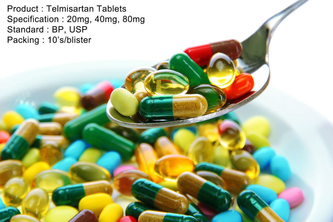 Telmisartan Tablets 20mg, 40mg, 80mg Oral Medications