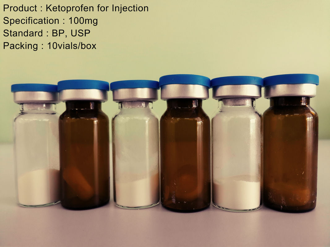NSAIA Ketoprofen Injection 100mg Reconstituting Powdered Medications