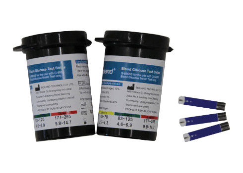 Pathological Analysis Equipments Blood Glucose Test Strip for Glucose Monitor Rapid Test